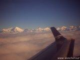 Z výhliadkového letu k M.Everestu...