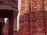 Qutub Minar v Novom Dílí...