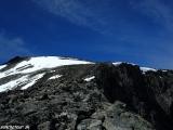 Oddych na vrcholovom hrebeni...