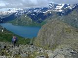 Nórske hory...