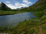 V NP Jotunheimen je vždy krásne...