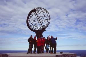 Nordkapp - najsevernejšie miesto Európy...