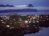 Hlavné mesto Svolvær...