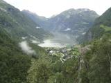 Pod nami Geirangerfjord...