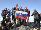 Na vrchole Galdhopingenu...