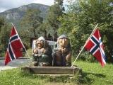 Nórsko...