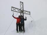 Na vrchole Pizzo calino 3323 m...