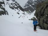 Ťažký život skialpinistu...
