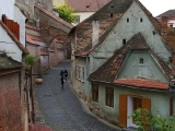 Zastávka v historickom meste Sibiu cestou do Fagarašu...
