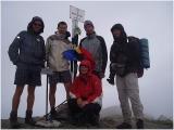 Najvyšší vrchol Rumunska...