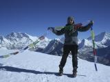Mera Peak 6470m - najvyšší trekkingový vrchol Nepálu...