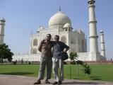 Prvý krát v Taj Mahale...