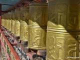 Pred kláštorom Pelkor Chode v meste Gyantse.