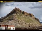 Pevnosť Dzong nad mestom Gyantse bola postavená už v 14. storočí