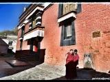 V uličkách Tashi Lhunpo