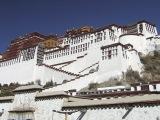 Palác Potala v Lhase...