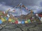 V tibetskom horskom priesmyku...