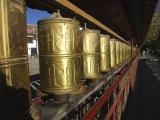 Budhistické modlitebné valčeky sú všade...