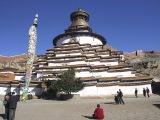 Kundum stupa v Gyantse...