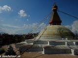 Budhistická stupa Budhanath...