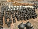 Námestie s keramikou....