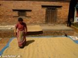 V uliciach Bhaktapuru...