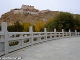 Pevnosť v meste Gyantse...