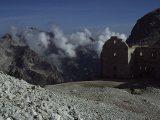 Pevnosť z I. svetovej vojny vo výške 2500 metrov...