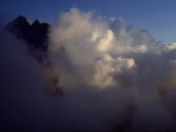 Triglav v oblakoch...