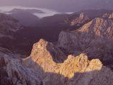 Východ slnka na Triglave...