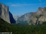 NP Yosemity, stena EL Capitan.....