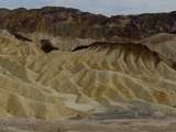 Zabriskie point v Death Valley...