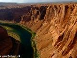 Konská podkova na rieke Colorado...