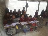 Dočasné vyučovanie v náhradných školských priestoroch...