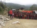 Danuri, koordinátor našej pomoci v Nepále...