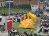 Náš B.C. na letisku v Káthmandu...
