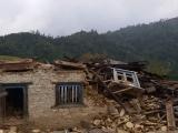 Zničený dom nášho dobrého priateľa Pasanga...