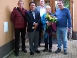 Stretnutie s honorárnym konzulom SR v Nepále p. Pasangom Sherpom v Trnave...