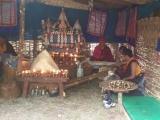 A budhistický obrad,,púdža,, v improvizovaných podmienkach...